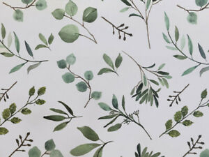 EUCALYPTUS-GREENERY-Print-Tissue-Paper-Sheets-20-034-x-30-034-Choose-Package-Amount