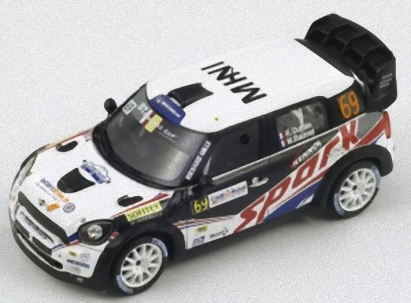Spark SF040 -  MINI JCW Spark n°69 Rallye de France WRC 2012 Dumas 1 43