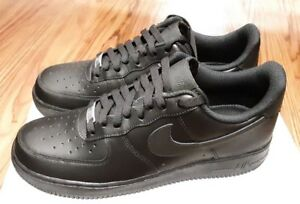 Details about 315122-001 NIKE Air Force 1 Black Men's Casual Shoes