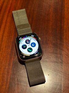 Apple Watch Series 5 Gps Cellular 44mm Silver Stainless Steel Case Milanese Loop Ebay