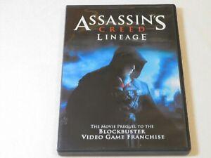 Assassins Creed Lineage Dvd 2011 Horror Romano Orzari Manuel