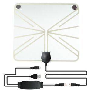 Digital-TV-Antenna-50-100-Miles-Range-Signal-1080P-Amplified-Usb-Hdtv-Indoor