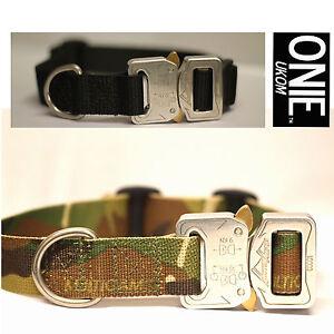 "UKOM ONIE 25mm (1"") Military Spec Dog Collar with Metal Cobra® Buckle - One Size"