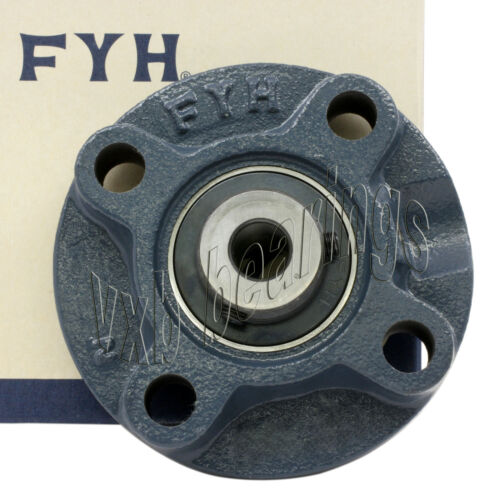 "FYH Bearing UCFC207-23 1 7//16/"" Round Flanged Mounted Bearings 11443"