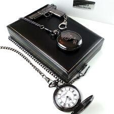 AL PACINO Signed Pocket Watch  and Handgun Keyring Say Hello Collectors Gift Set