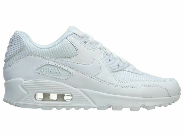 Size 9 - Nike Air Max 90 Essential White 2019 for sale online   eBay