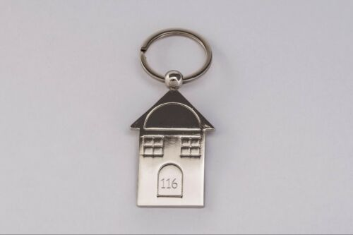 Personalised Engraved House Keyring New Home Engraved House Number Free Delivery