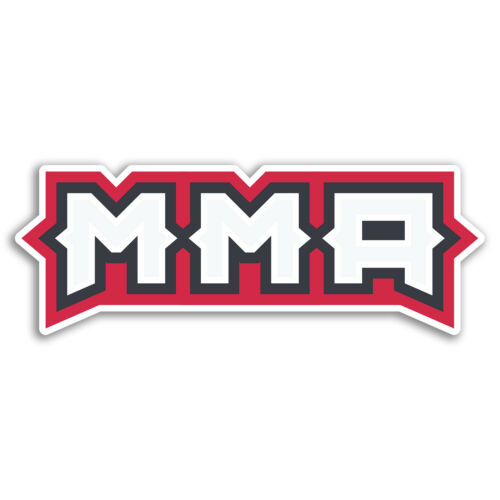Sticker Luggage Travel #19283 2 x 15cm MMA Martial Arts Boxing Vinyl Stickers