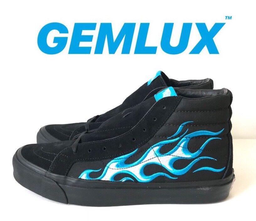 Vans Vault X wtaps UA og SK8-Hi LX zapatillas Talla UK10 Color  Azul Raro