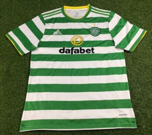 NEW 2020-2021 Celtics Home Soccer Jersey Short Sleeve Men/'s Football Shirt S-XXL