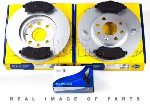 FRONT AXLE BRAKE SET DISCS AND PADS OPEL VAUXHALL COMLINE ADB31112 ADC1112V