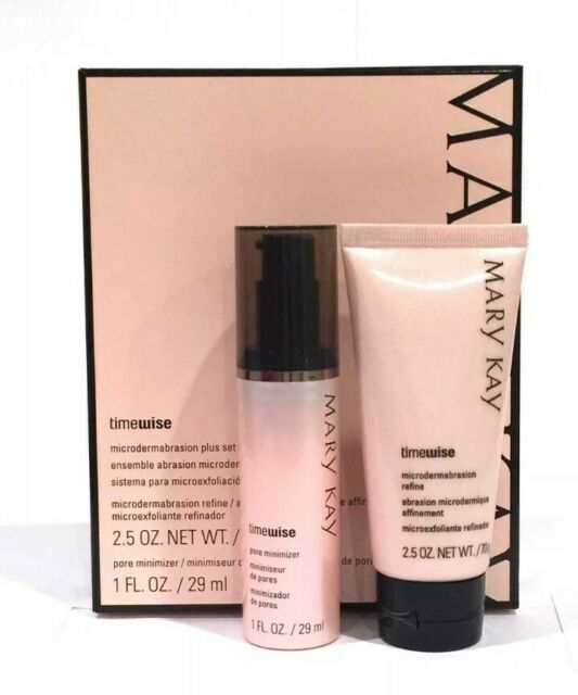 Mary Kay Microdermabrasion Set Refine And Pore Minimizer For Sale
