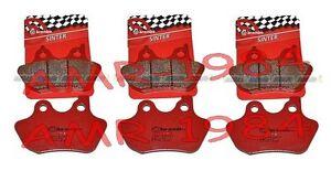 Brake-Pads-Brembo-Front-Rear-Harley-Davidson-FLHR-I-Road-King-1450-00-06