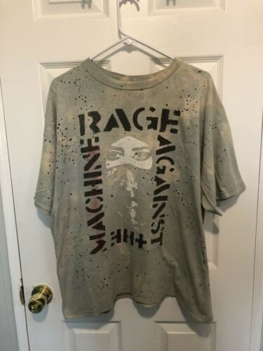 Custom Rage Against the Machine Shirt