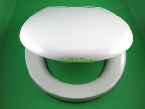 Image is loading Thetford-36503-RV-Toilet-Seat-and-Lid-Bone-