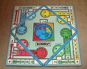 1994 SORRY Plastic Fold-Out Travel Game - Hasbro - Great for Road Trips!