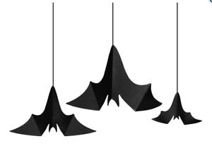 3 X Fledermaus Hange Dekoration Halloween Tisch Party Deko Neu Ebay
