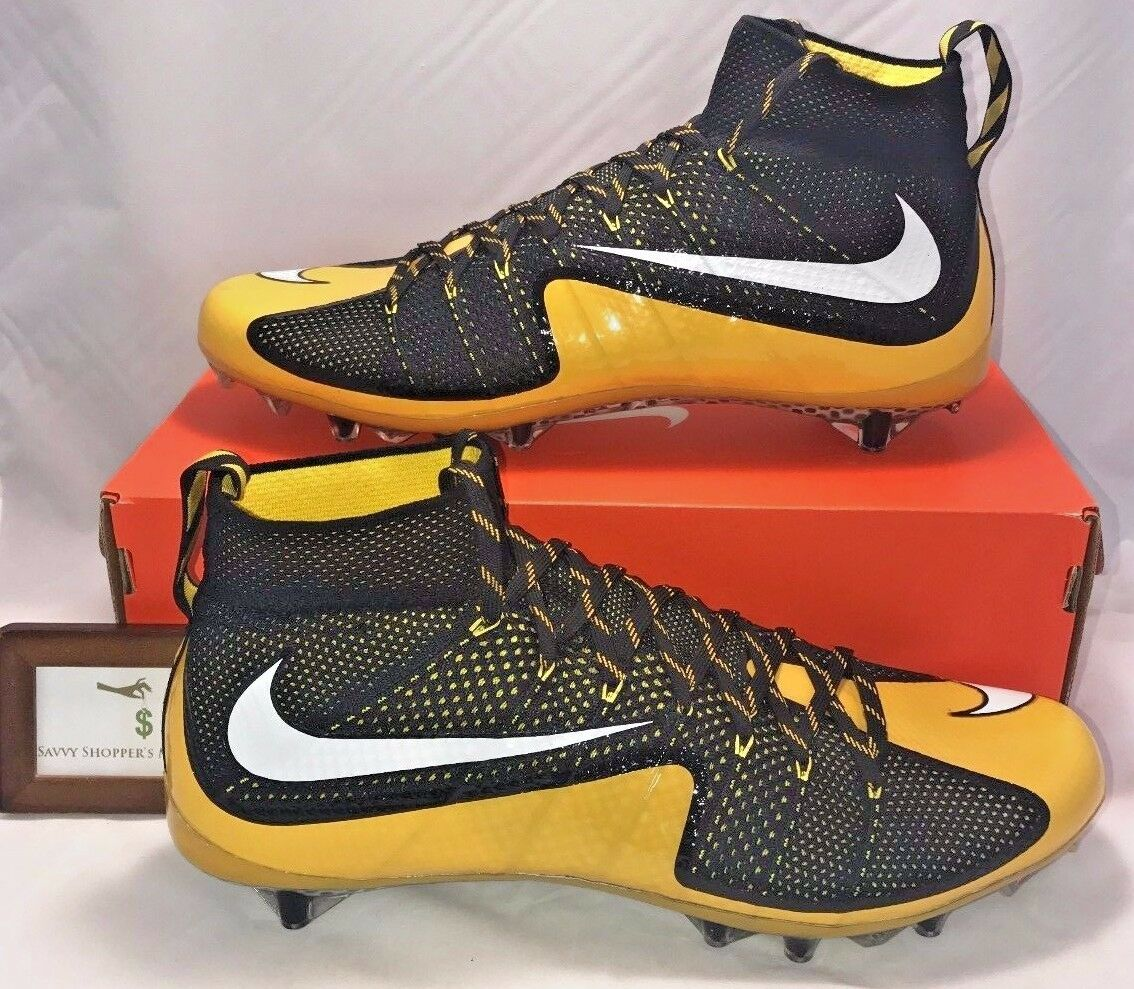 The most popular shoes for men and women NIKE MEN SIZE 15 VAPOR UNTOUCHABLE 1 TD FOOTBALL CLEATS PITTSBURGH STEELERS RARE
