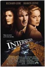 INTERSECTION Movie POSTER 27x40 Richard Gere Sharon Stone Lolita Davidovich