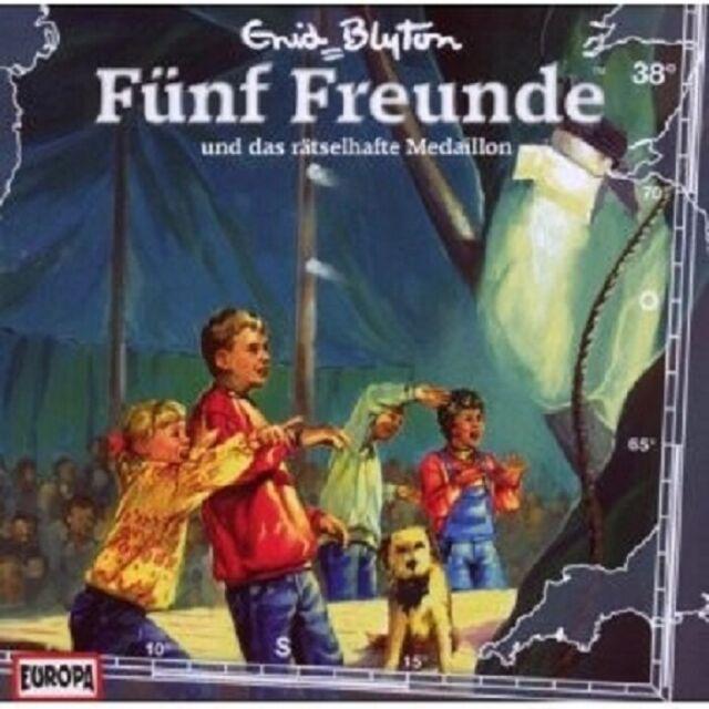 "FÜNF FREUNDE ""UND DAS RÄTSELHAFTE MEDAILLON (FOLGE 38)"" CD NEUWARE"