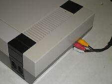 NINTENDO GAME SYSTEM AV RCA CABLES AUDIO VIDEO DVD FLAT SCREEN HOOKUPS NES TV
