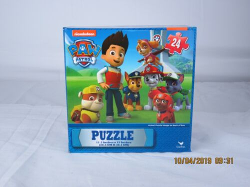 nicklelodeon paw patrol 24 pc puzzle ages 3+