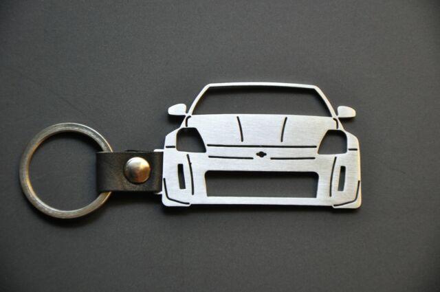 Nissan 350Z Stainless Steel Keychain