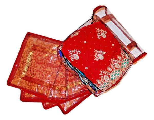 1 X Saree Bags Large Storage Garment Lehnga Dress Cover Suit Wardrobe Organiser Hot Sale 50-70% Korting