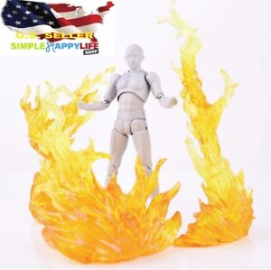 EFFECT-BURNING-Yellow-FLAME-D-Art-Figma-Kamen-Rider-1-6-figure-Gundam-USA