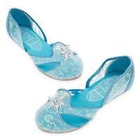 Disney Store Frozen Elsa Costume Dress Up Shoes Sz 7/8 9/10 11/12 13/1 2/3 NEW