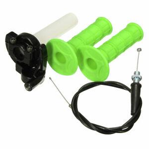 Motorcycle-QUICK-ACTION-THROTTLE-GRIP-TWIST-Cable-Kit-110cc-125cc-Dirt-Pit-BIKE