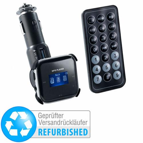 Versandrückläufer auvisio 3in1-MP3-Player LCD mit FM-Transmitter /& Radio