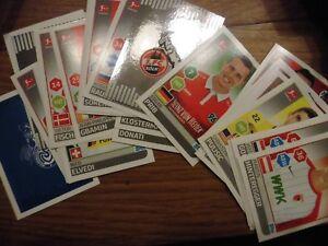 15 Stück auswählen Aldi Fußball Sticker Bundesliga Offizielle Sticker Kollektion - Hüttenberg, Deutschland - 15 Stück auswählen Aldi Fußball Sticker Bundesliga Offizielle Sticker Kollektion - Hüttenberg, Deutschland