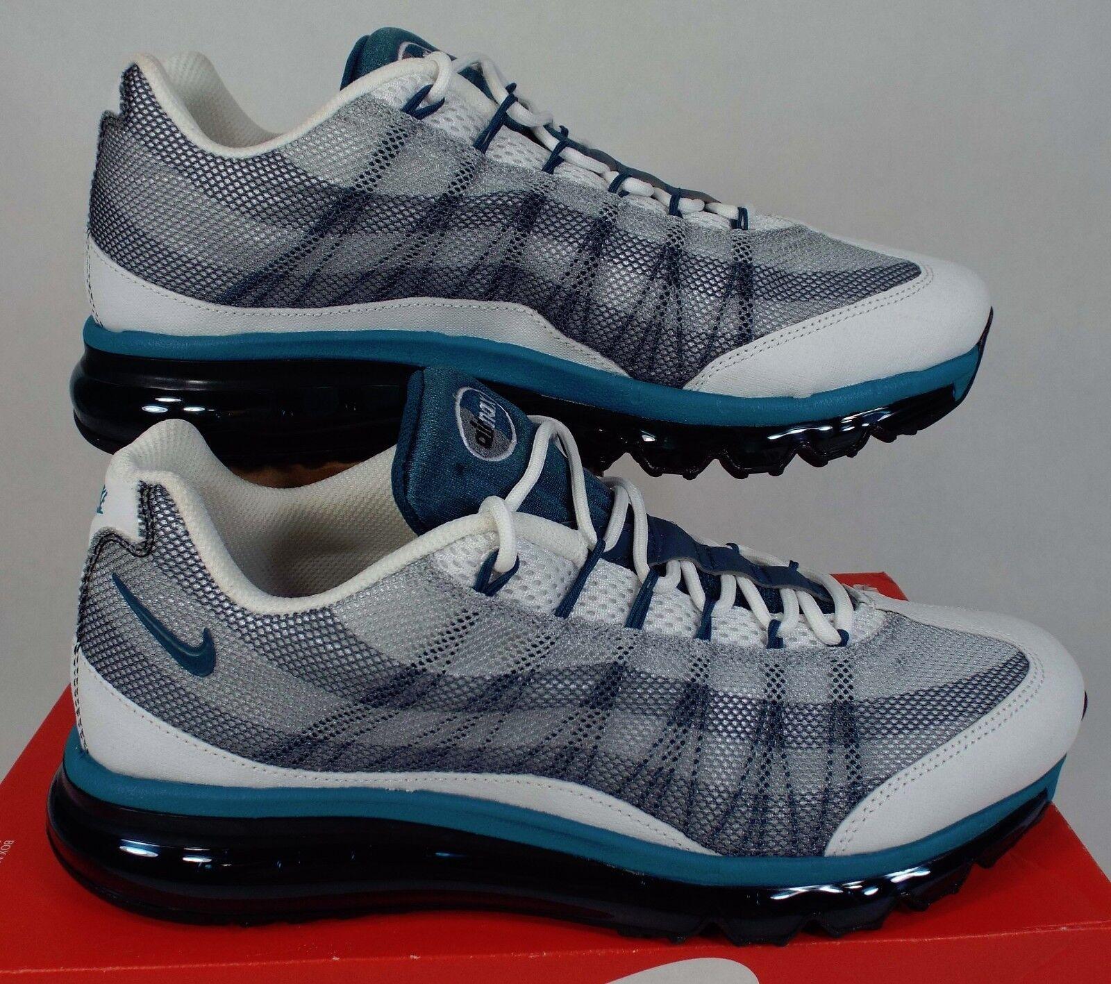 New Mens 10 NIKE Air Max 95 2013 DYN FW Grey Teal Run Shoes 0 599300-100
