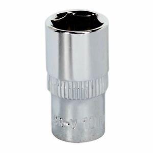 Sealey-SP1410-WallDrive-Socket-10mm-unidad-1-4-034-Sq-Completamente-Pulido