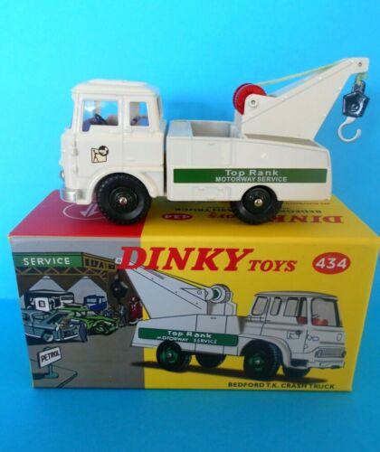 DINKY TOYS 434  BEDFORD TK CRASH TRUCK 4677109 ATLAS EDITIONS 1//43 N