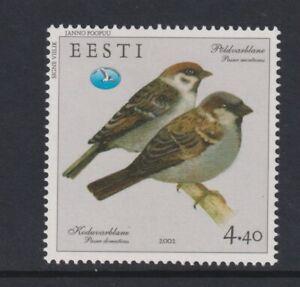 Estonie - 2002,4f40 Tree Sparrow, Oiseau Tampon - L/M - Sg 419