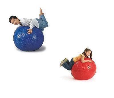 "Special Needs Anti-Burst Sensory Goosebumps Ball 26"" Knobby GIANT Massage 6041"
