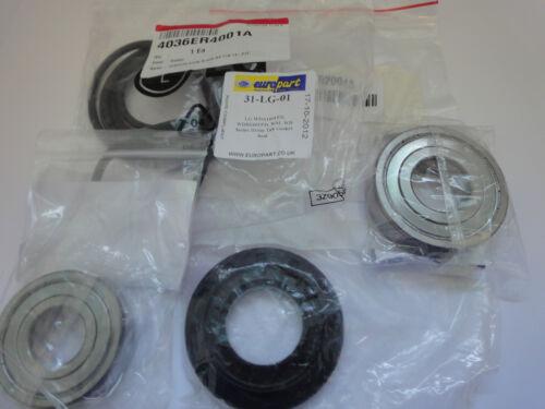 LAVATRICE LG F1622GD5 cuscinetti SKF autentico Cuscinetto Sigillo /& Guarnizione vasca 03