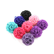 """7""""/10"""" Flower Kissing Ball Wedding Silk Rose Party Pomander- 20 Colors available"""