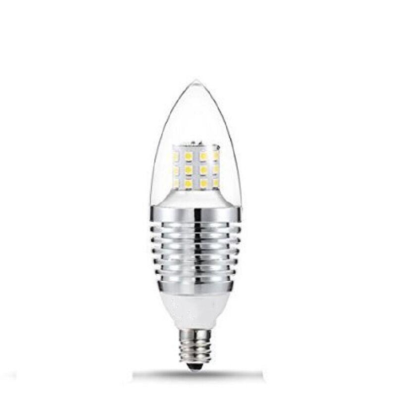 us 5 led e12 candelabra base light bulb 7w 110v daylight. Black Bedroom Furniture Sets. Home Design Ideas