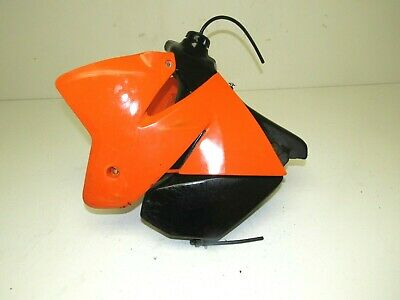 orange 2000-2001-2002 Billet Gas Fuel Tank Cap Cover For KTM 520 EXC//SX//MXC