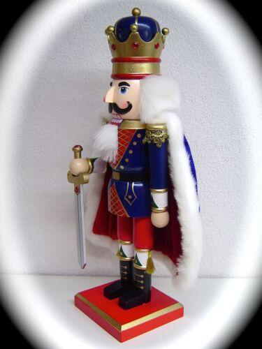 CASSE NOIX CASSE NOISETTE Nutcracker 39 cm roi avec cape 30046