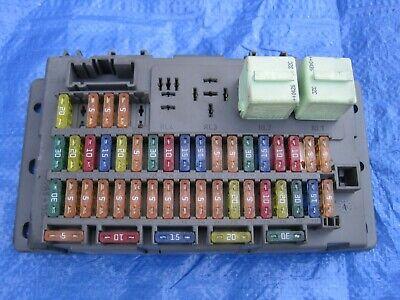 2005 mini cooper s fuse box 02 05 bmw mini cooper s 29s dash fuse box relay box multiplex  02 05 bmw mini cooper s 29s dash fuse