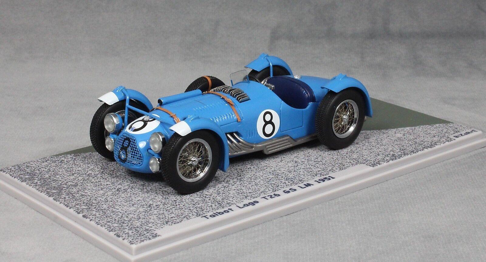 Bizarre Talbot Lago T26GS Le Mans 1951 Eugène Chaboud & Lucien Vincent BZ431