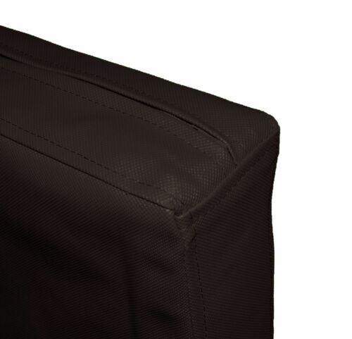 Pa802t Marron Imperméable Extérieur PVC boîte 3D canapé siège Housse de coussin Taille personnalisée