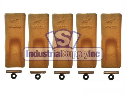Bucket ToothStandard ChiselCAT StyleW// Pins /& Retainers6Y32225 PK