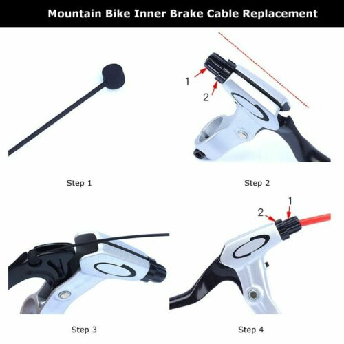 Bike Brake Cable Wire Shifter Mountain Bicycle Road New Control Line Front Rear