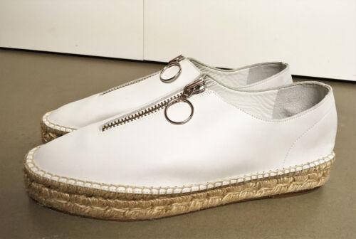Sneaker Leather New bianche Wang Platform Espadrillas 41 Alexander gFEtqxPwt