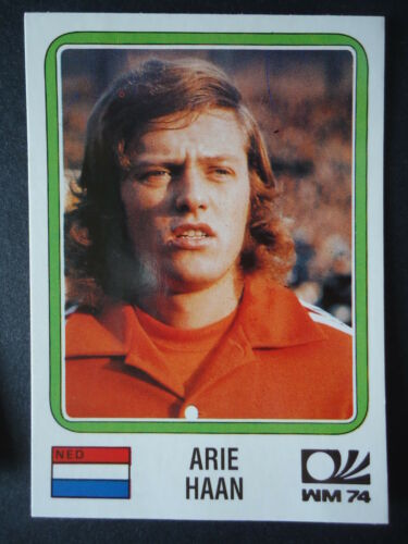 Panini 82 Arie Haan Niederlande WM 74 World Cup Story